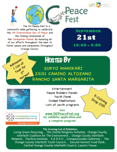 OC Peace Fest @ Pacific