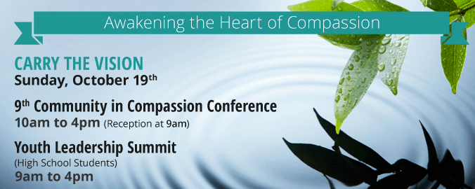 Silicon Valley Interreligious Council and Carry the Vision Bring the Compassion Games to Silicon Valley