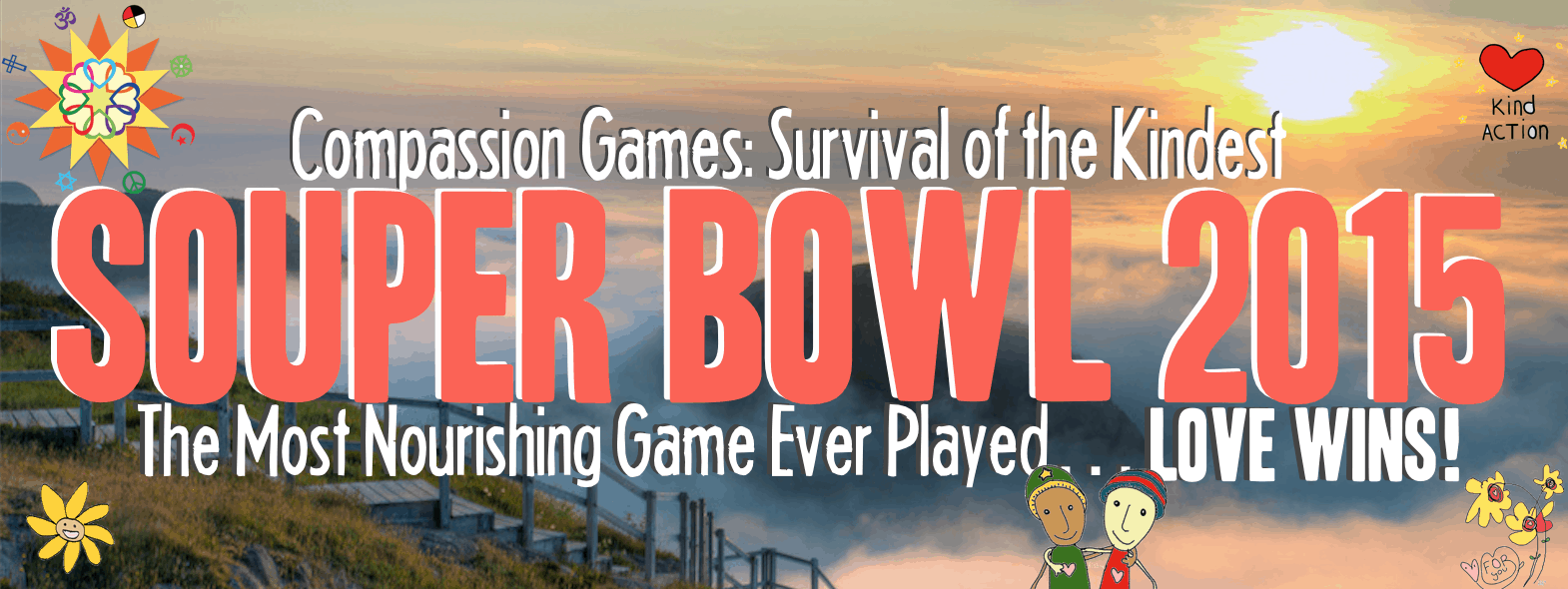 Compassion Games Souper Bowl - 2015