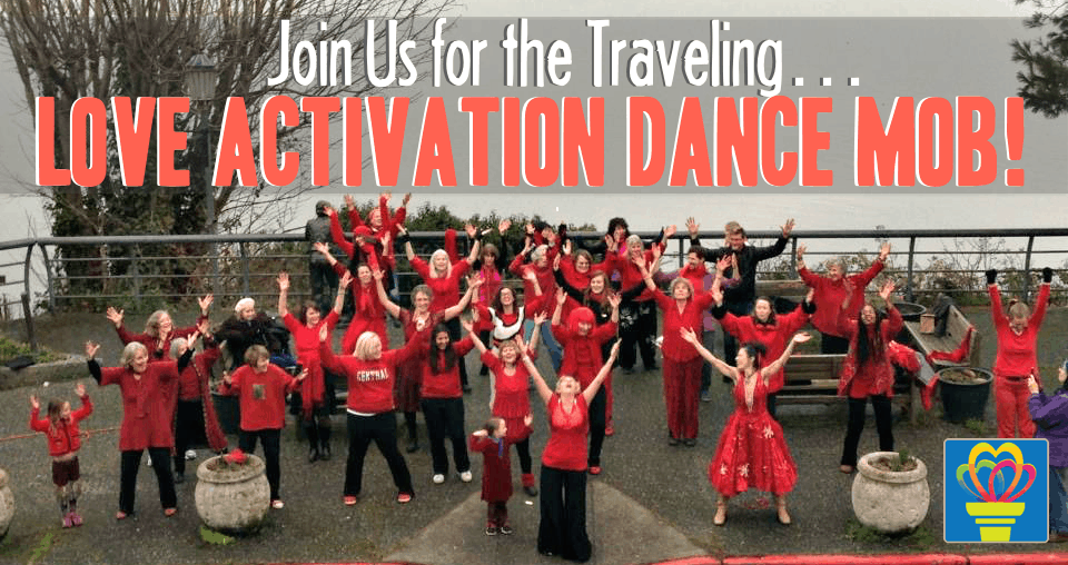 Traveling Love Activation Dance Mob - Love This Place! @ Seattle/Seattle Metro