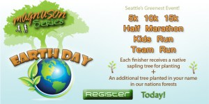 Earth Day Run + Plant a Tree! @ Magnuson Park (Seattle) | Seattle | Washington | United States