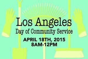 Los Angeles Day of Community Service @ West Adams High School