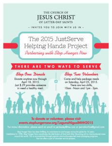 Ending Hunger Now! @ Church of Jesus Christ of Latter Day Saints