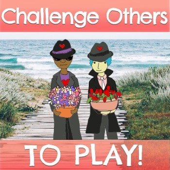 """I challenge you to play with me in the Compassion Games... Game on!"""