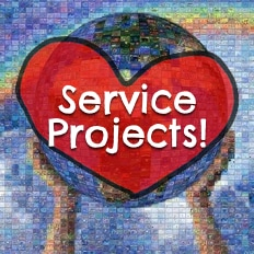 Plant lasting seeds of kindness and compassion in your communities through organized service.