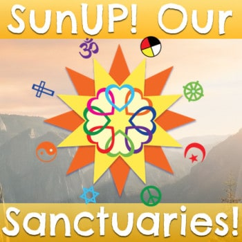 Challenging faith communities to implement renewable energy to Protect and Restore the Sacred!