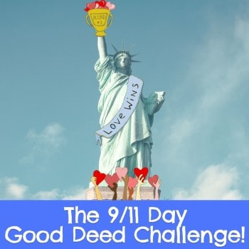 In honor of the unity and compassion that arose in the immediate aftermath of 9/11, pledge a good deed!