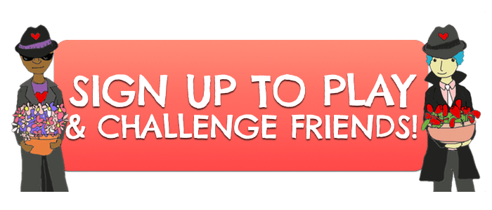 Sign Up and Challenge Friends Button