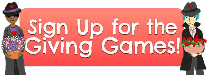 Sign Up for the Giving Games Button