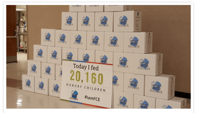 From 20,000 to 250,000 to 1,252,160 Meals Feeding Children Everywhere!
