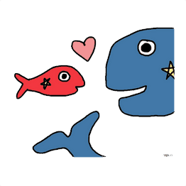 Whales Fish Friends PNG