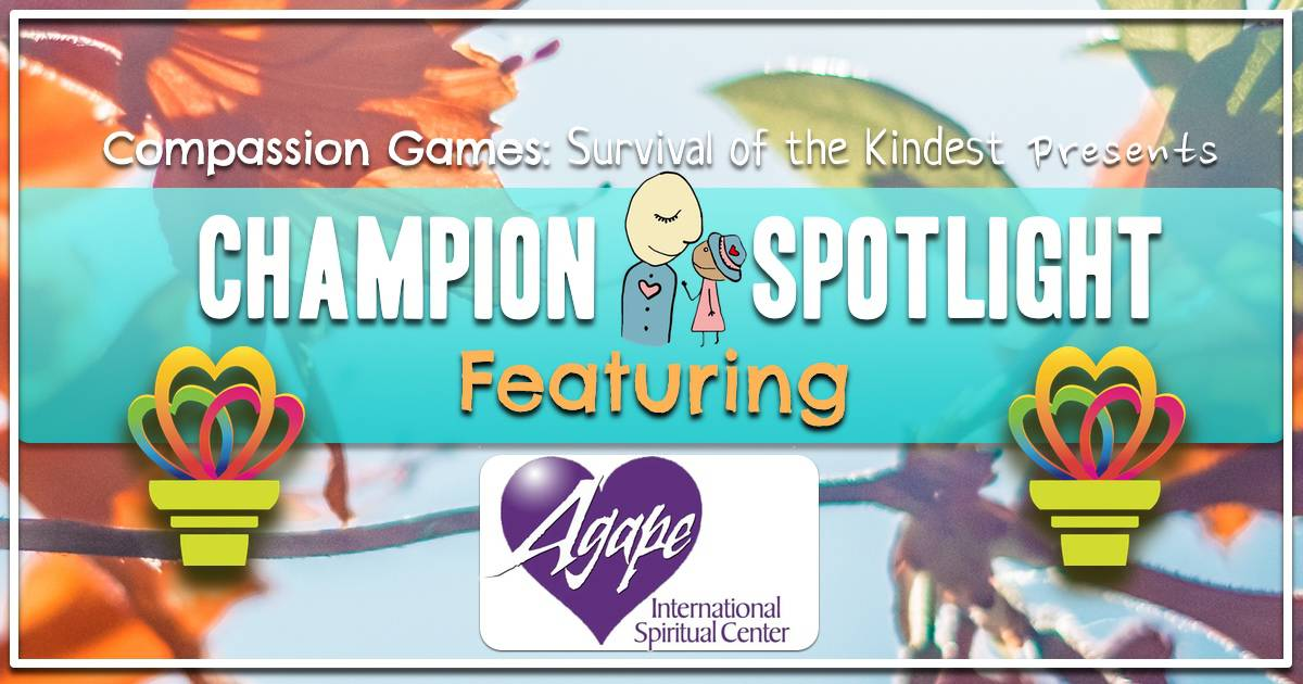 Giving Games Champion Spotlight: Agape Spiritual Center