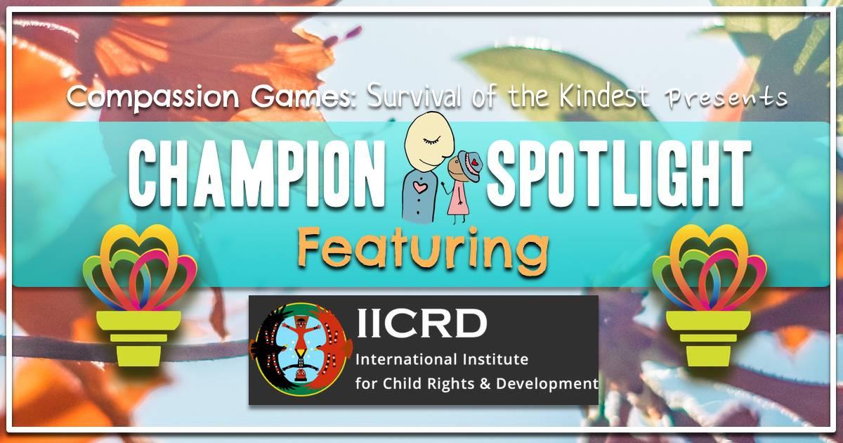 Giving Games Champion Spotlight: International Institute for Child Rights Development