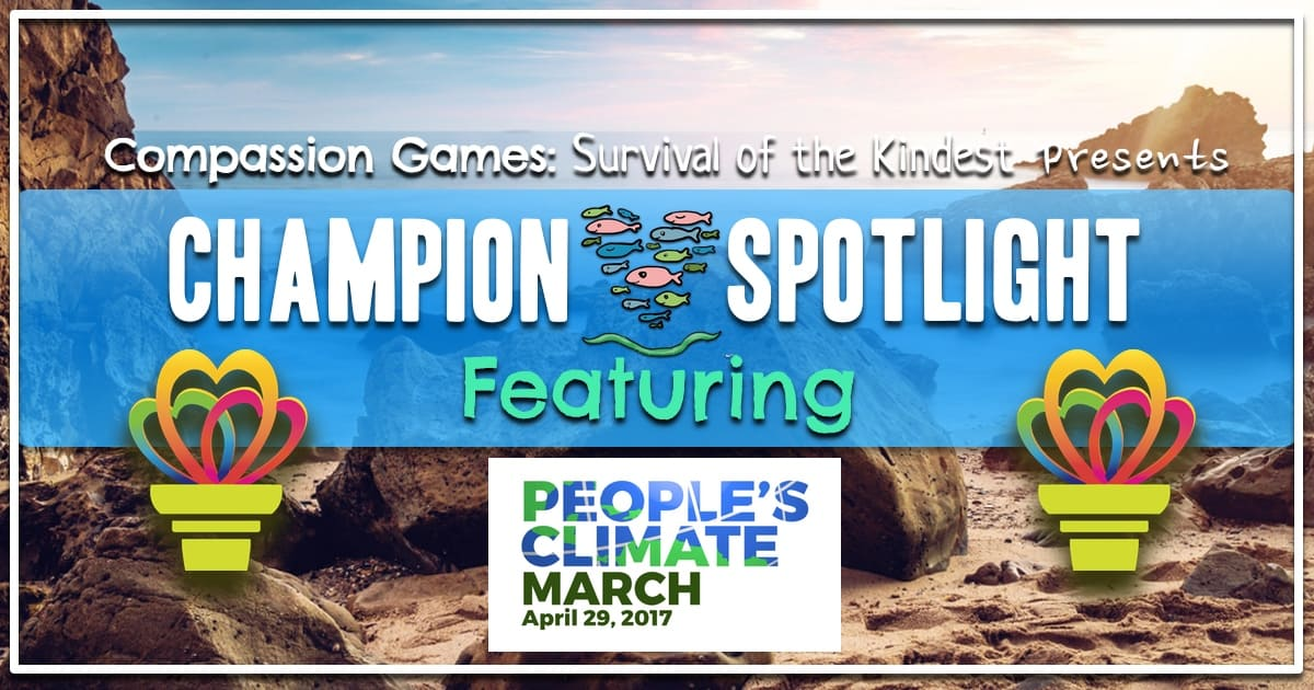 Earth Week Champion Spotlight: People's Climate March