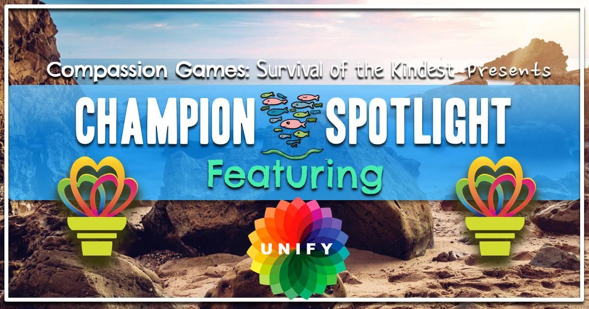 Earth Week Champion Spotlight: Unify