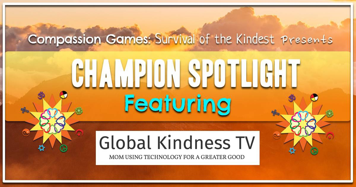 Karen Palmer with Global Kindness TV
